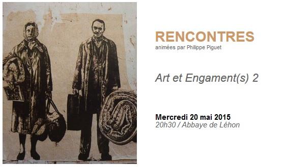 Rencontres : Art et Engagements 2