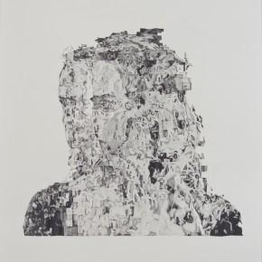 Transition 7 - crayon sur papier - 110 x 75 cm