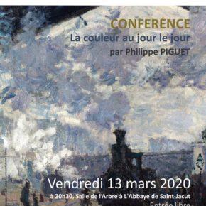 CONFERENCE - Normandie Impressionniste 2020: la couleur au jour le jour