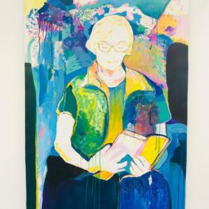 Juliana Dorso - Bain d'amour - 2020 - Gouache - 100x150cm