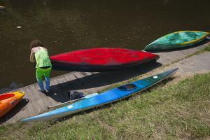 Flora Moscovici, CLub de Kayak