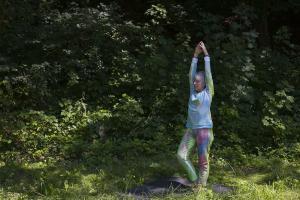 Flora Moscovici, Certaines peintures se promènent. Club de Yoga