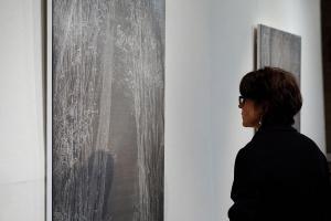 Kai-Chun Chang, Série Jardin d'hiver, 2019. Acrylique sur toile. 120x100cm