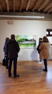 Exposition Passage à l'Abbaye de Léhon
