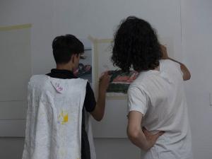 Atelier de peintures - Jour 3