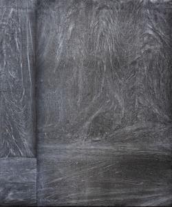 Jardin d'hiver - ruisseau de la nuit, 2019. Acrylique sur toile, 120x100cm