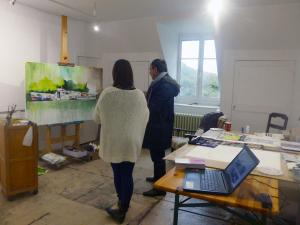 Atelier de Cassandre Fournet