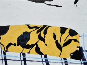 One day painting 2, 2021Acrylique sur contreplaqué32x24 cm