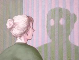 Lise Stoufflet - Alter ego - 2020 - 100x130cm - huile sur toile