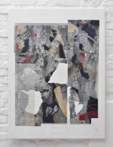 Louise Carbonnier, Carte, 120x90cm