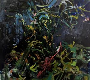 Twist ans turns, oil on canvas, 160x180cm, 2020.