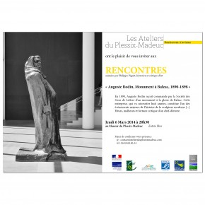 "Auguste Rodin, ""Monument à Balzac"", 1890 - 1898"