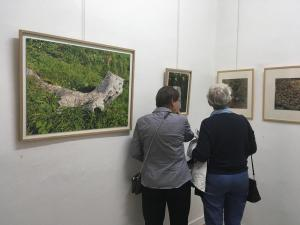 Vue de l'exposition. Raphaëlle Peria. Yvonne Jean-Haffen