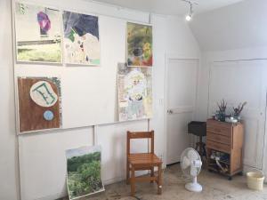 Vue de l'atelier Camille Girard et Paul Brunet