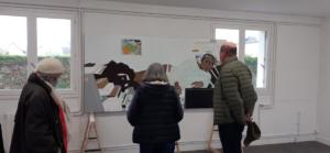 Retour en image sur l'exposition d'Ymane Chabi-Gara et d'Iwan Warnet.(c) APM