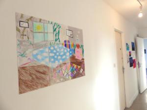 Productions réalisées par les élèves du collège de Créhen avec Lise Stoufflet  (c)APM