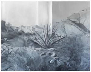 Kentmere/Tabernas#5, huile sur toile, 129,7 x 161,8 cm, 2020